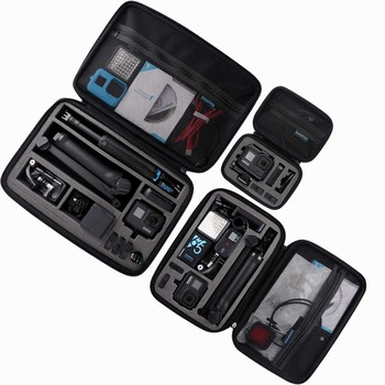 Portable Storage Bag For Gopro Case for Xiaomi Yi For Go Pro Hero 8 7 6 5 4 Black DJI OSMO Pocket action Camera Accessories high quality waterproof housing case for gopro hero 5 6 action camera hero 5 6 black edition