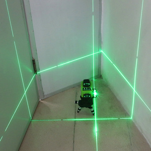 Image 2 - Kaitian Lazer Level Receiver Green 3D Self Leveling Cross 12Lines Vertical Horizontal 360 Rotary Lasers Line Level Battery Tools