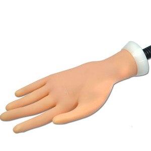Image 2 - Faux main Flexible Nail Art formation professionnelle pour laffichage outil répété plastique souple dans la pratique prothétique manucure CHND275