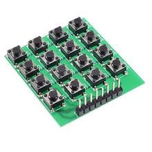 4x4 матричная клавиатура микропереключатель 16 клавиш однокристальный