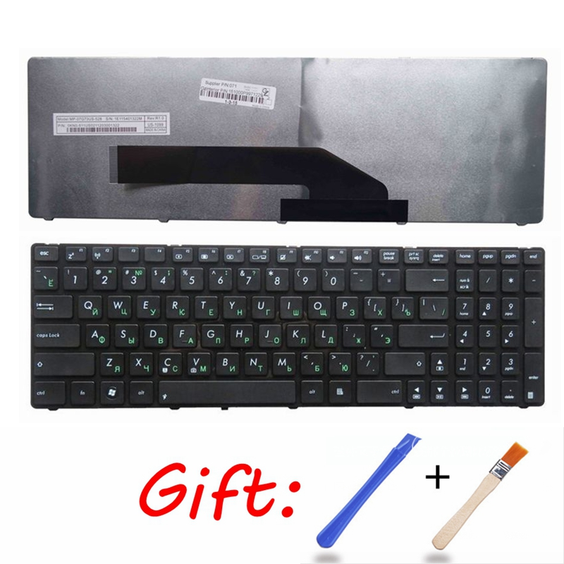 Russian Laptop Keyboard For ASUS K50 K50I K50IJ K50C K50AB K50AD K51 K51A K50AF K50IN P50 P50IJ RU