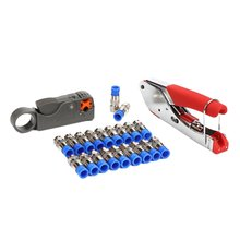 Coaxial Cable Cable Cable Clamp Wire Stripper Set Professional Portable Beautiful Practical Pliers Crimping Tool Kit