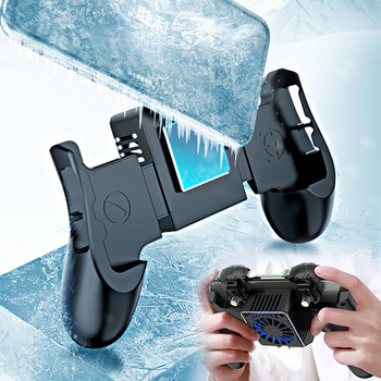 Mobile Phone Cooler Handle Semiconductor Cooling Fan Holder For iPhone Xs Max Xs XR Samsung Mobile Radiator Gamepad Controller 1