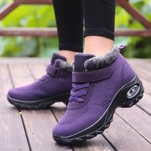Women Boots Sneakers Shoes Winter Size-35-42 Brand Outdoor Breathable Super-Warm