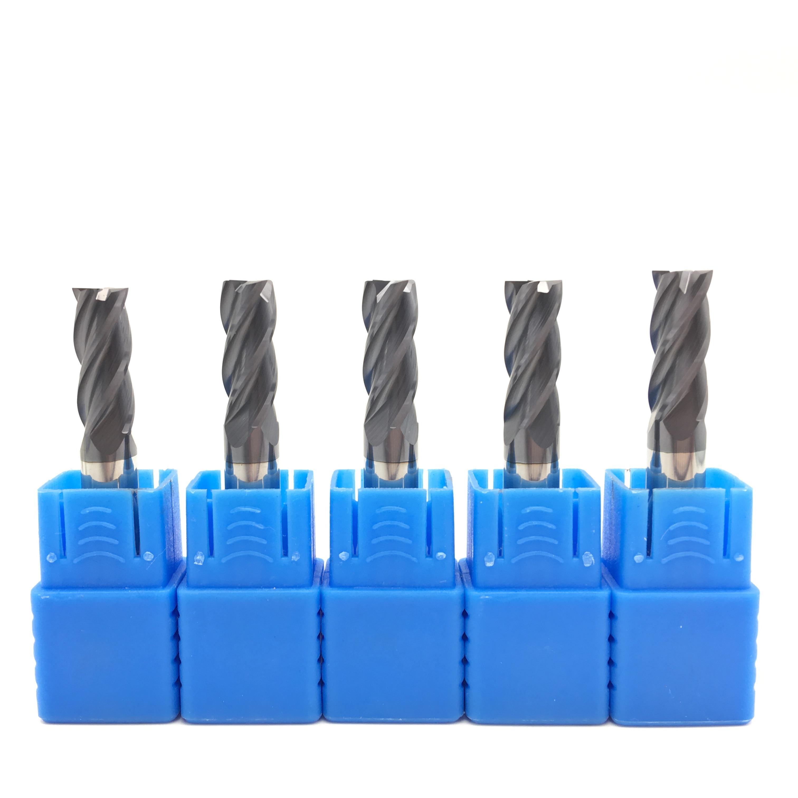 18mm fresas de extremidade do carboneto hrc50