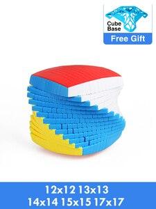 Image 1 - Shengshou 12x12x12 13x13x13 14x14x14 15x15x15 17x17x17 kostka prędkość magiczne Puzzle Sengso 12x12 13x13 14x14 15x15 17x17 Cubo magico