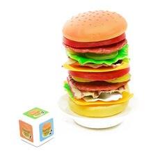 Многоцветная гамбургер пончик баланс игрушка Новинка укладка