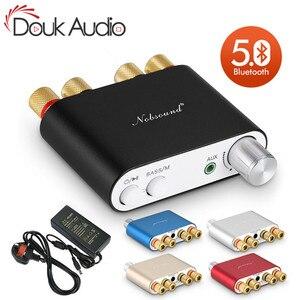Image 1 - Nobsound Amplificador Digital HiFi TPA3116, 100W, Bluetooth, receptor de Audio HiFi estéreo, USB, DAC, con fuente de alimentación