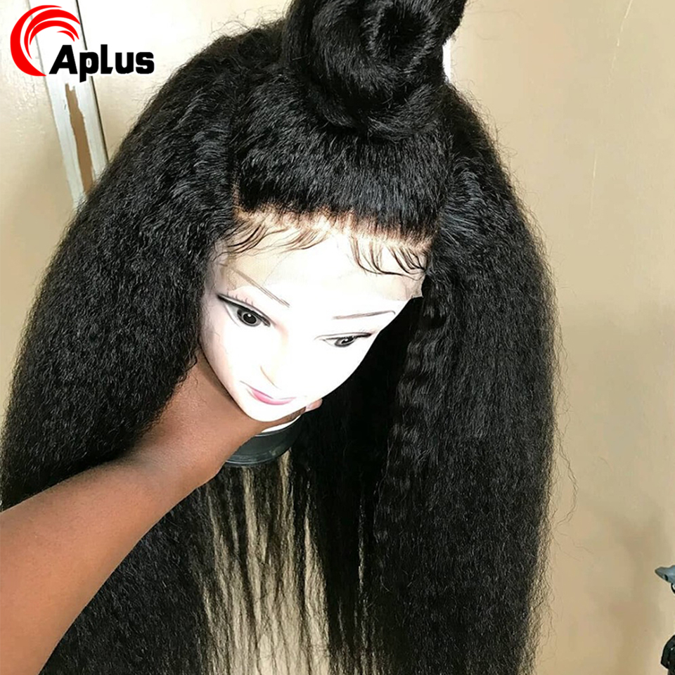 kinky straight wig (2)