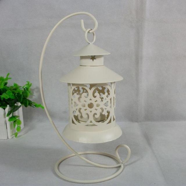 European Vintage Metal Birdcage Lantern Candle Holder Garden Night Outdoor Tea Light Wedding Home Table Decoration Holder 5