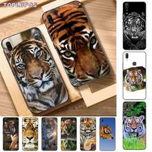 TOPLBPCS 29 colorful Lion Tiger leopard Wolf Bling Cute Phone Case for Vivo Y91C 31 53 19 11 17 81 55 66 69 71 V11 i 9 7 67(China)