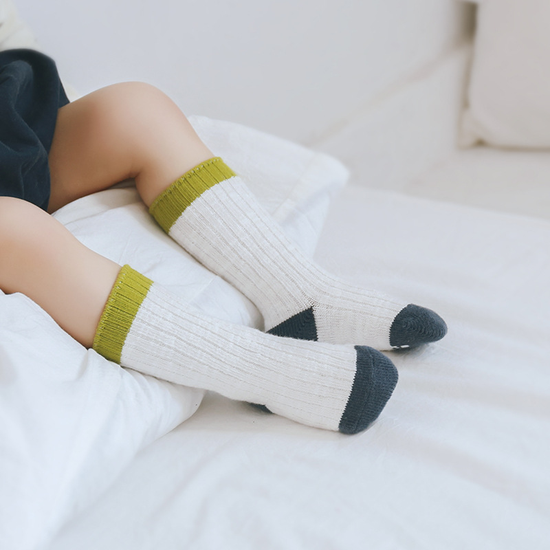 Children Boys Girls Anti Slip Socks Kids Thick Cotton Socks Children Clothes Accessories Toddler In Tube Socks Autumn Winter