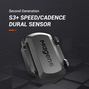 Magene New Model S3+ Cadence Sensor Speedometer Bicycle ANT+ Bluetooth 4.0 for Strava garmin bryton iGPSPORT bike Computer(China)