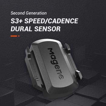 Magene nowy Model S3 + czujnik rytmu prędkościomierz rower ANT + Bluetooth 4 0 dla Strava garmin bryton iGPSPORT komputer rowerowy tanie i dobre opinie Wireless Stopwatch Magene speed and cadence sensor