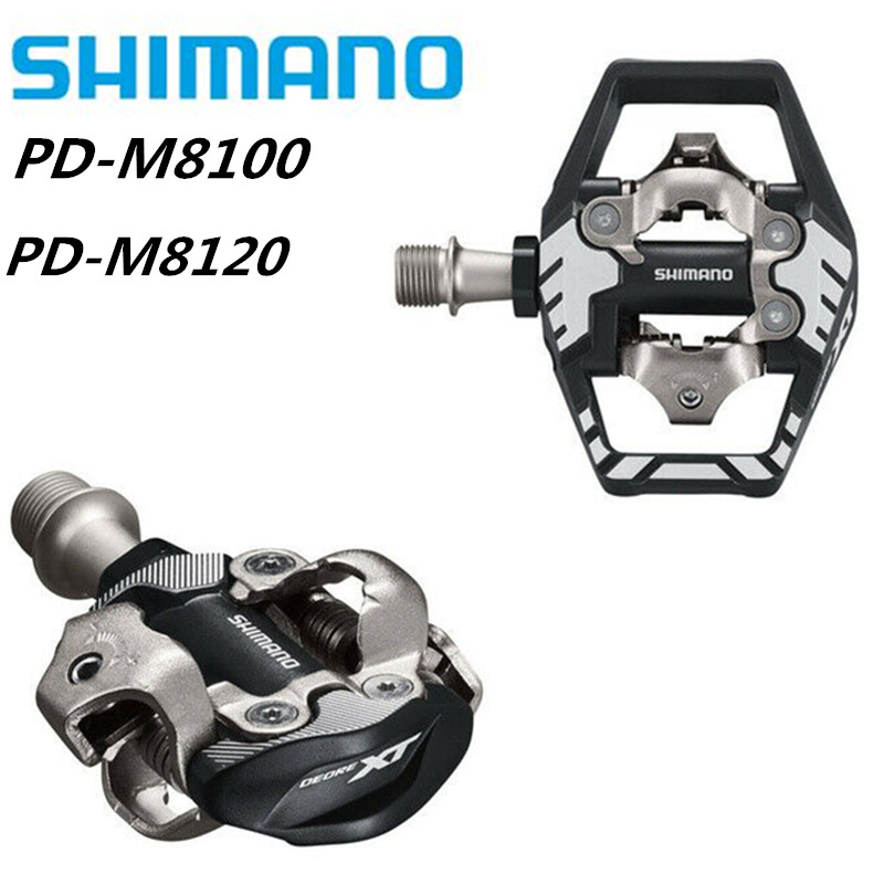 Shimano Deore XT PD-M8100 PD-M8120  Race SPD Pedal MTB Mountain Bike Pedals With SM-SH51 Cleats