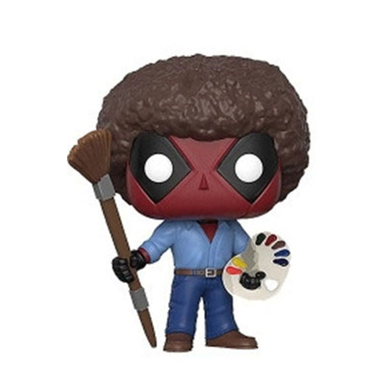 funnly-animes-super-heroes-font-b-marvel-b-font-action-figures-collection-x-man-319-deadpool-joy-painting-bob-ross-10cm-model-doll-toys