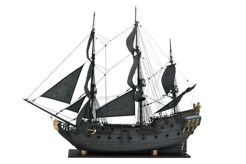ZHL le noir perle doré version 2019 bois modèle bateau kit 31 pouces - 2
