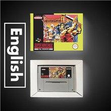 브레스 오브 파이어 II 2   EUR 버전 RPG 게임 카드 배터리 저장 상자