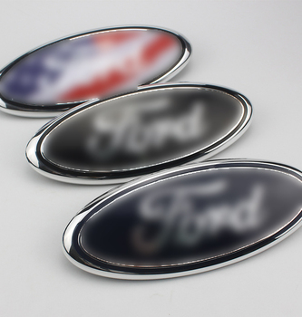 цена на NEW Ford Front Leading Mark Ford F150 Explorers Front Leading Mark Front Face Grille Car Logo Front And Back Standard Mach
