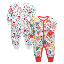Baby Autumn Winter Pajamas Boys And Girls Long Sleeved Casual Sleepsuit Newborn Toddler Infant Clothes 0-24 Months