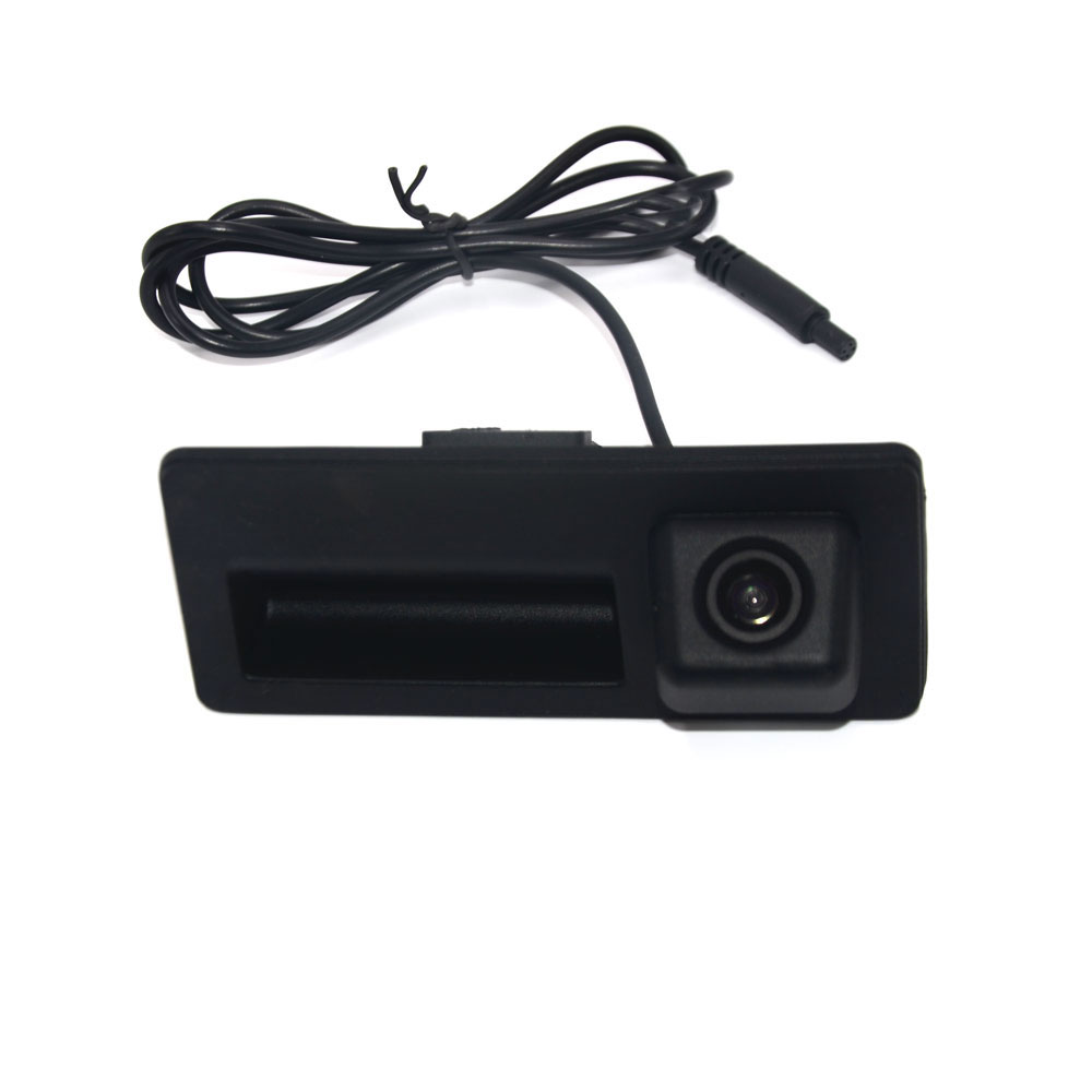 BYNCG star night vision car boot with rear view <font><b>camera</b></font> for <font><b>Audi</b></font> <font><b>A4</b></font> A3 A5 Q5 for VW Passat Tiguan golf Touran Jetta Touareg image