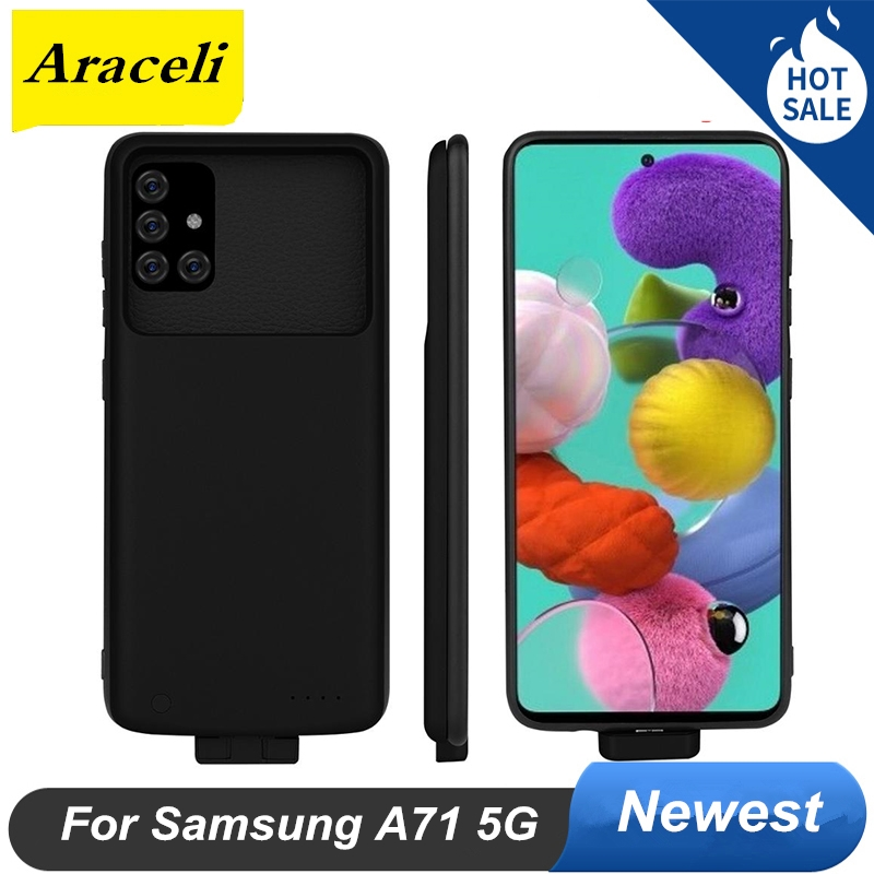 5000 Mah For Samsung Galaxy A71 5G Battery Case And Power Case Bank Smart Charger For Samsung Galaxy A71 5G Battery Case