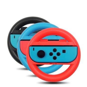 2 uds. De volante de carreras para Nintendos Nintendo Switch Joy con empuñaduras de controlador para juegos de interruptores Nitendo Material ABS