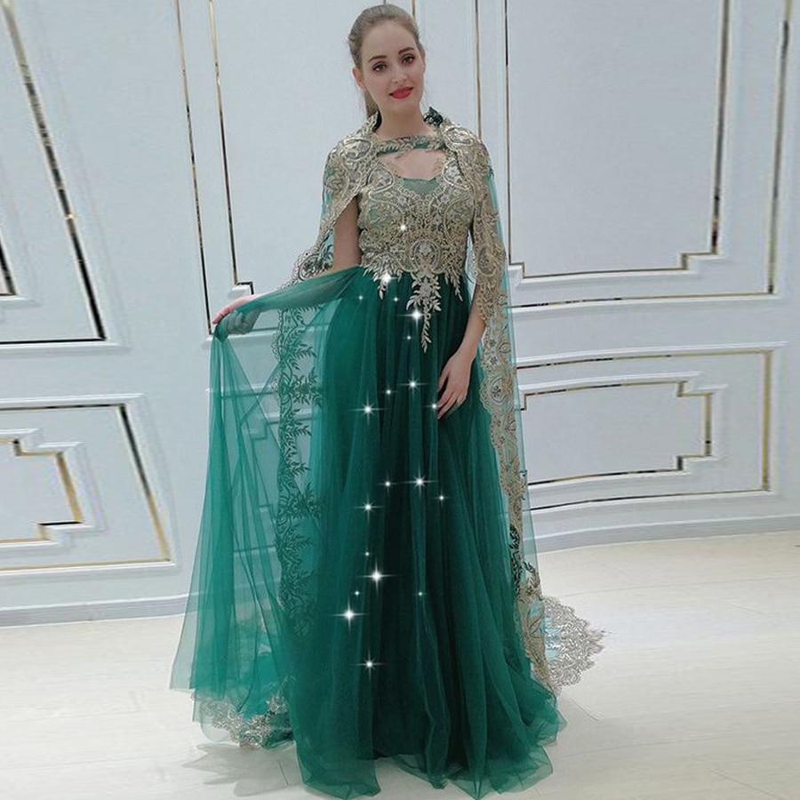 Vintage Sequined   Prom     Dress   abiti da cerimonia da sera Formal High Quality A-line Evening   Dresses   with Long Shawl Zipper Back