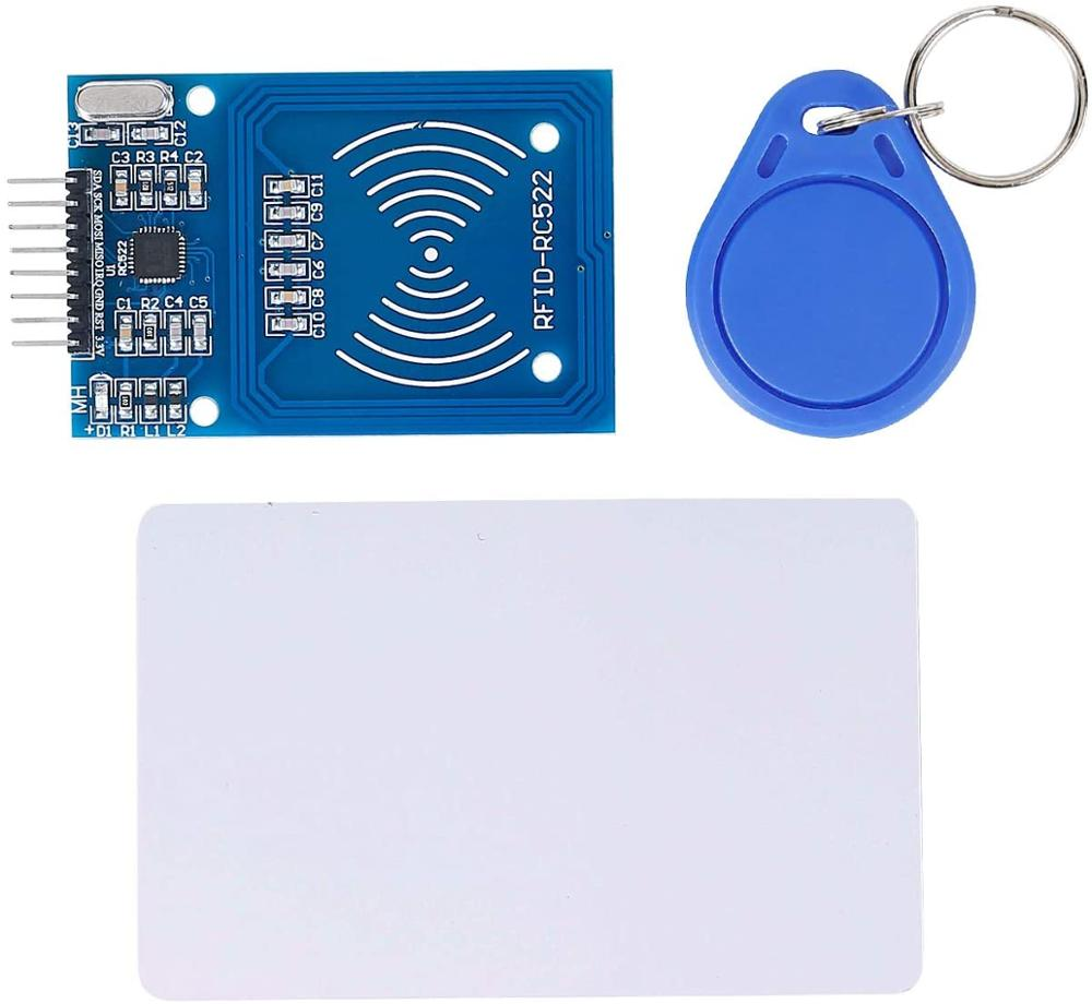 RFID Kit - MF RC522 RF IC Card Sensor Module + S50 Blank Card + Key Ring For Arduino Raspberry Pi
