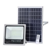 5pcs New Outdoor 40W 60W 80W 100W 120W Solar Rechargeable LED Indicator Flood Lights Solar Floodlight with Battery Display
