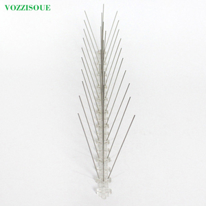 Image 2 - Hot 7M Bird and Pigeon Spikes Pest Repeller Anti Bird Pigeon Spike for Get Rid of Pigeons and Scare Birds Pest Control 60 Thorns