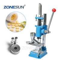 ZONESUN Pill Punch Die Mini Punch Press Machine Professional Manual Tablet Press Machine for Medical Device