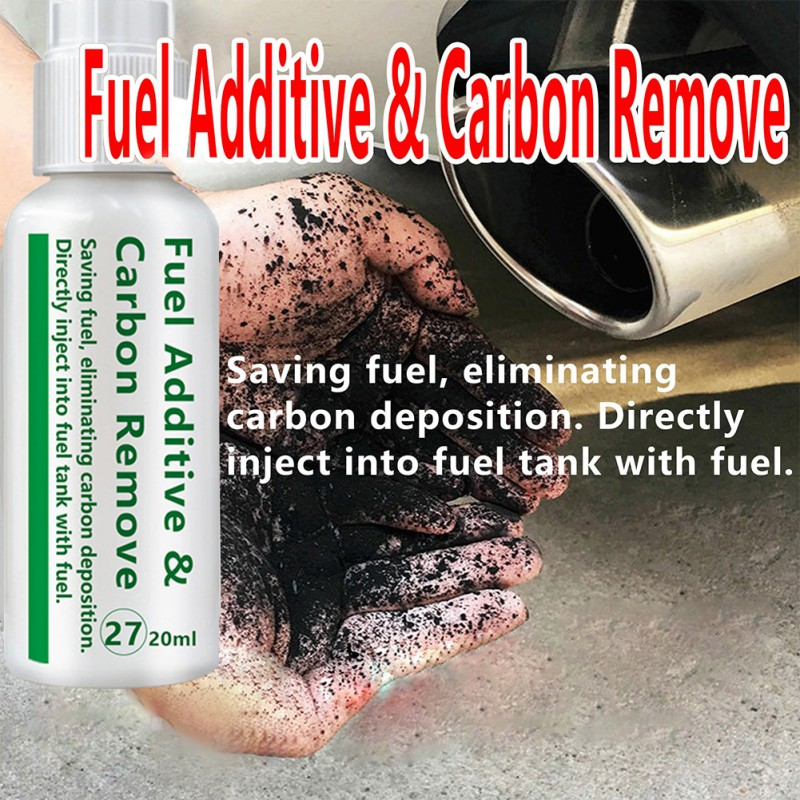 20/50ml Portable Car Fuel Additive Carbon Cleaning Agent Automobile Cleaner Maintenance Accessories