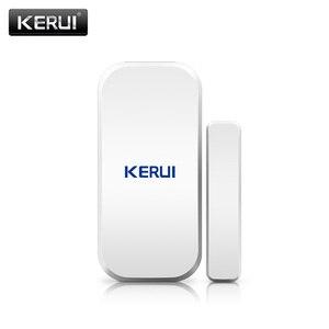 Image 2 - Kerui D025 ワイヤレスドア/窓センサー検出器 kerui wifi gsm 警報システムホームセキュリティ buglar 警報 433 mhz ドアセンサー