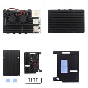 Image 4 - Original Raspberry Pi 4 Modell B Kit 2GB/4GB Aluminium Fall + Schalter Power Adapter + Micro HDMI Kabel + 32GB SD Karte für Pi 4 4B
