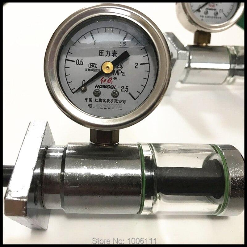 Diesel VE Pump Piston Plunger Travel Tester With 2.5Mpa Pressur Gauge For Diesel Pump Repairing Tool