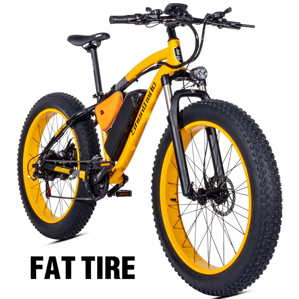 Electric bicyclette Bafang electric motor 500W Beach support cycliste Rover Electric bicyclette 48v17a Lithium element ebike Beach locomotive