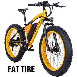 Motociclo elettrico Bafang motore 500W Beach ausiliare biciclette Rover biciclette elettriche 48V17A litio e altre auto elettriche spiaggia 26 pollici auto elettrica motoslitta Fat pneumatici elettrici