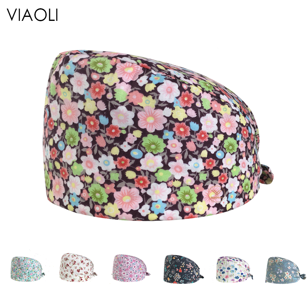 2020doctor Hat Men And Women With Short Hairs Lab Cap Surgical Caps Medical Caps Hospital Dental Clinic Pediatrician Pure Cotton