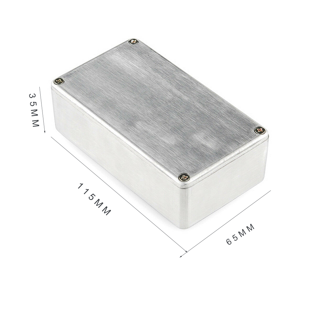 Купить с кэшбэком 1590A/1590B/1590BB/1590C/1032L High Polished Aluminum Alloy Guitar Effect Pedal Enclosure For Electric Guitar