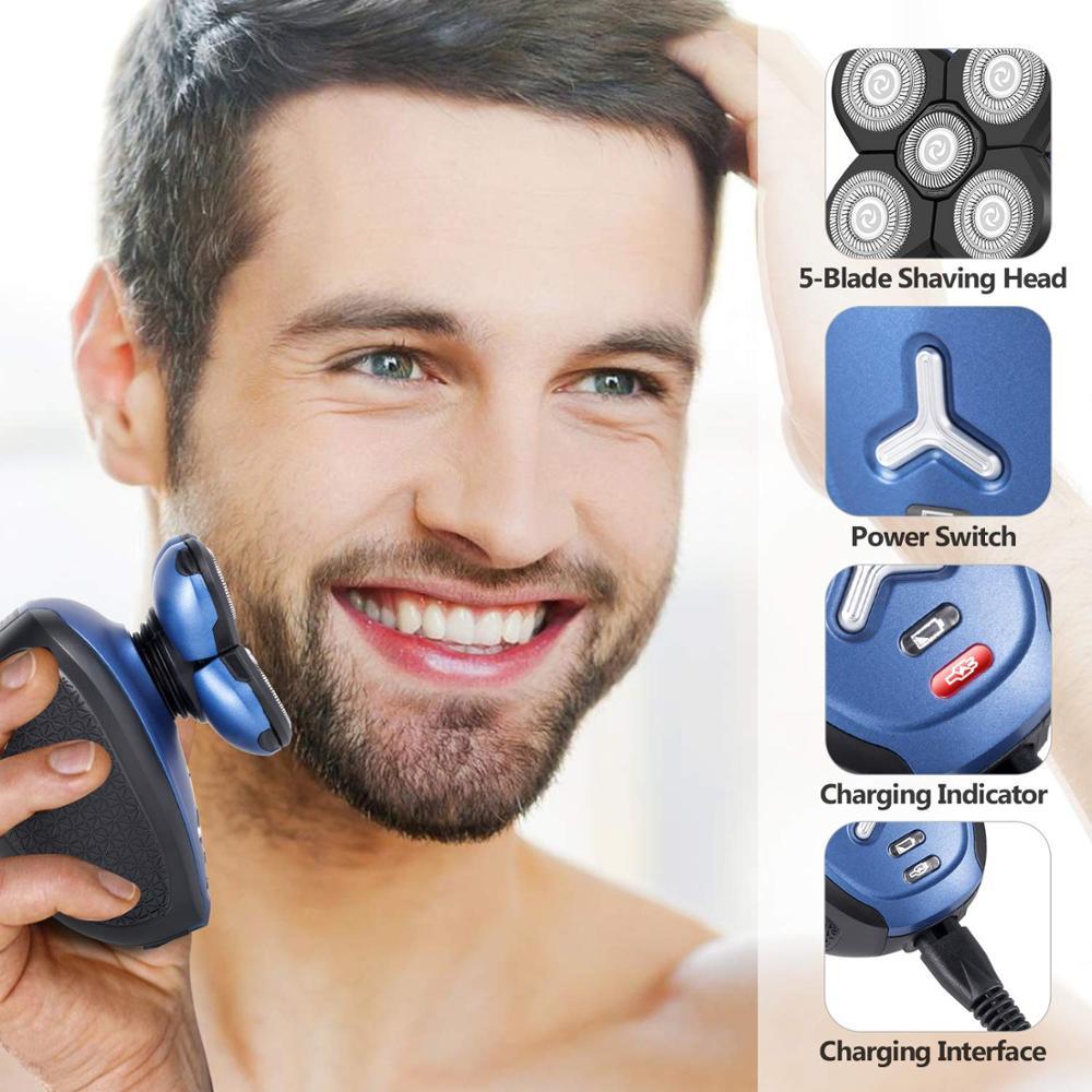 lavavel barbeador eletrico 5in1 maquina de barbear 04