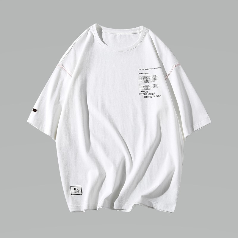 Harajuku Streetwear T Shirt Men Fashions Casual Print Tshirt Men T Shirt Half Sleeve Hip Hop T Shirts Men Brand Clothing Summer in T Shirts from Men 39 s Clothing