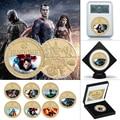 WR 5 stücke Gold Überzogene Münzen Sammlerstücke mit Box UNS Münze Original Anime Münzen Geschenk Set Dropshipping