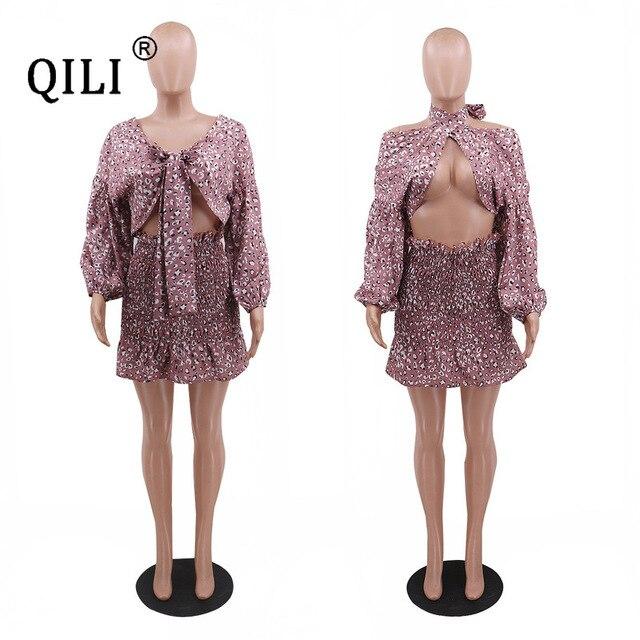 Фото qili сексуальное бандажное платье для женщин с рукавом фонариком цена
