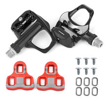 New Self-Locking Bike Pedal is Suitable for Look Keo Bearings Cleats Bicycle Super Clear Aluminum Alloy Compatibility Lock Pedal