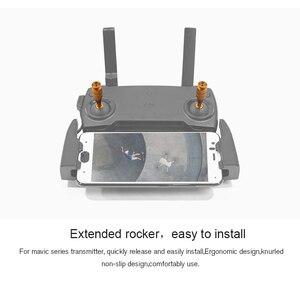 Image 2 - Аксессуары DJI mavic mini, запасные части, 2 шт., пульт дистанционного управления с ЧПУ, трость для большого пальца, защитный чехол для хранения