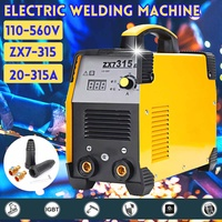 Newest 20 315A Mini Handheld Electric Welding Machine IGBT Inverter Arc Welding High Efficiency Portable Machine Power Tools