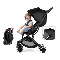 British B BEKO Aluminum Alloy Baby Stroller Light Folding Lightweight Baby Cart Four wheel Baby Carriage Buggy 0 3years old