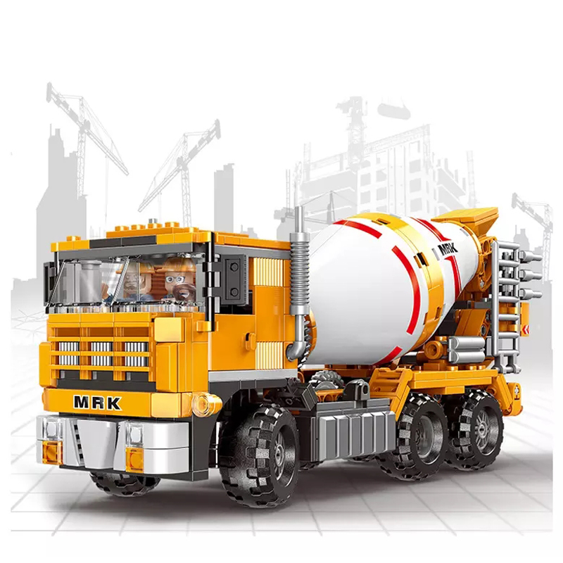 New Engineering Mechanical Series Toys Heavy Duty Truck Compatible Legoingly City Building Blocks for Children Christmas Gift