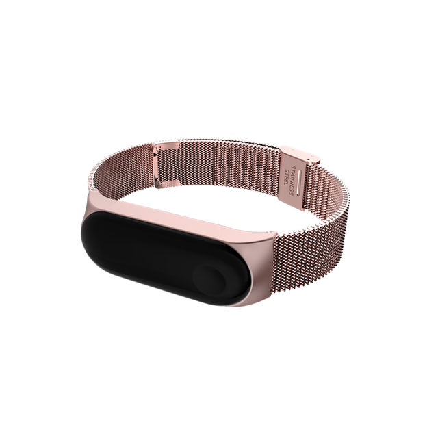 Strap For Xiaomi Mi Band 3 4 Wrist Metal Bracelet Screwless Stainless Steel for Xiaomi Mi Band 4 3 Strap Wristbands Pulseira 5
